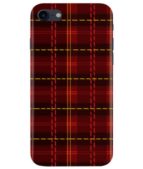 Check Fabric iPhONE 8 Cover
