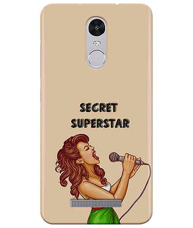 Secret Superstar Redmi Note 3 Cover