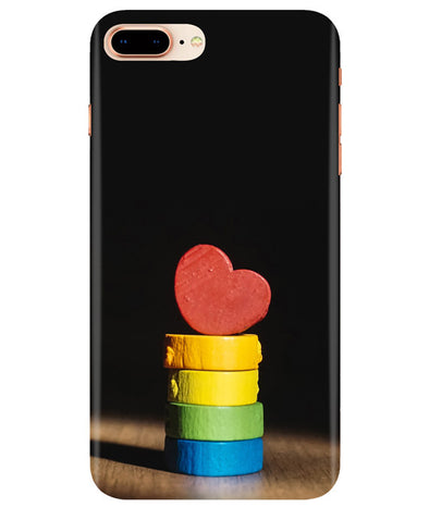 Heart Aim iPhONE 8Plus Cover