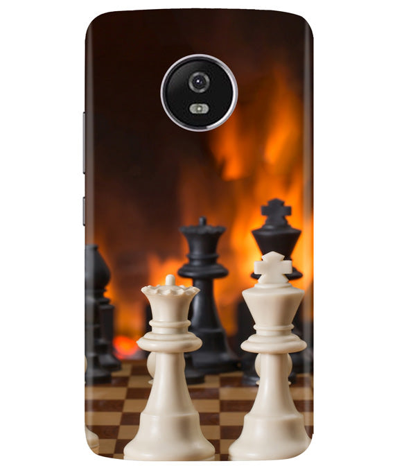 Chess Play Moto G5 Plus Cover