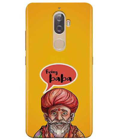 Being Baba Lenovo K8 Plus Cover