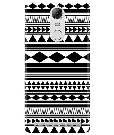 Just Black & White Lenovo K5 Note Cover