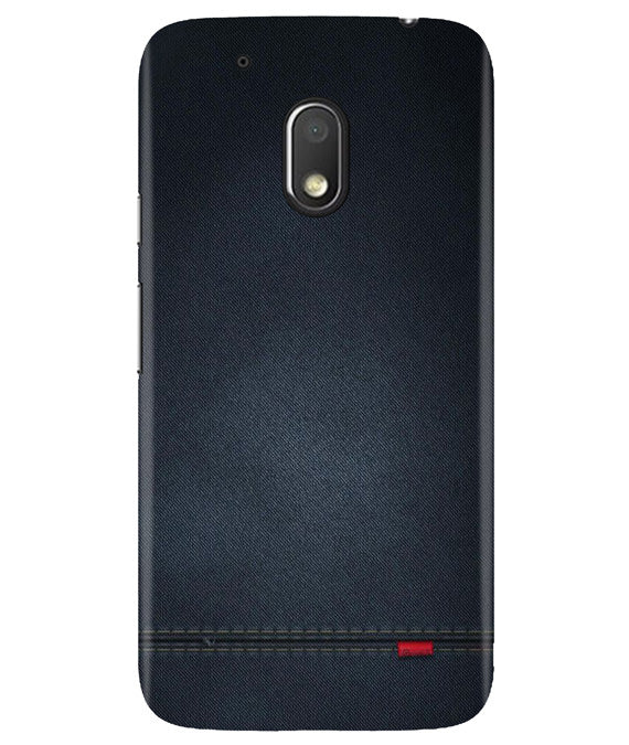 Black Denim Moto G4 Play Cover