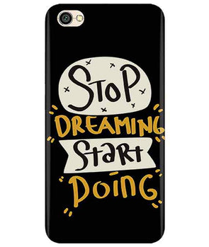 Stop Dreaming Case Redmi Y1 Lite Cover