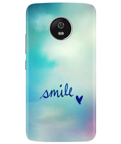 Just Smile Moto G5 Plus Cover