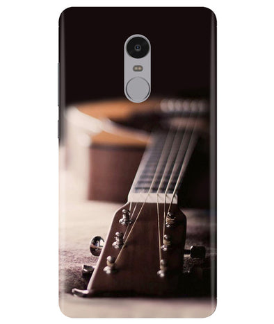 Guitar Strings Redmi Note 4 Cover