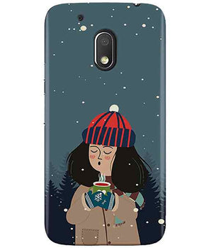 Winter Charm MOTO G4 PLAY Cover