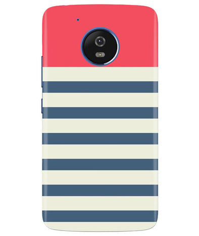 Cream Stripes Moto G5 Cover