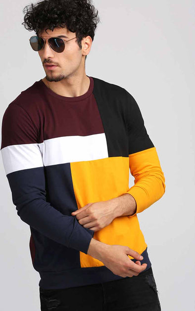 Multicoloured-Full-Sleeve-T-Shirt