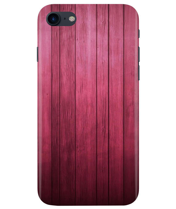 Raspberry Wood iPhONE 8 Cover