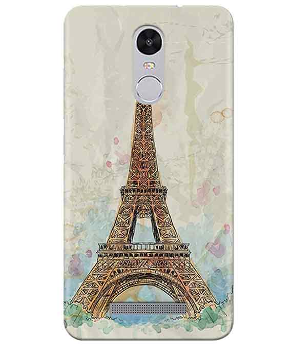 Eiffel Tower Redmi Note 3 Cover