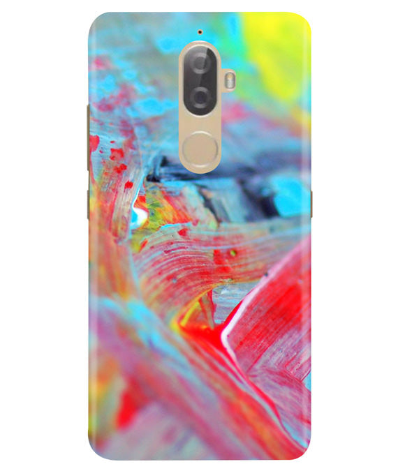 Canvas Strokes Lenovo K8 Plus Cover