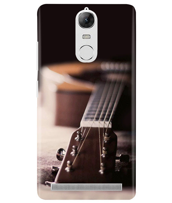 Guitar Strings Lenovo K5 Note Cover