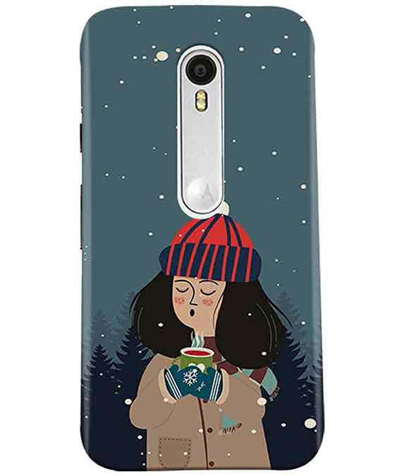Winter Charm Moto G3 Cover