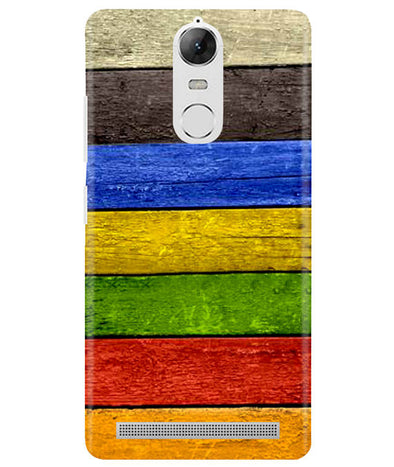 Coloured Wood Lenovo K5 Note Cover
