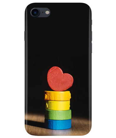 Heart Aim iPhONE 8 Cover