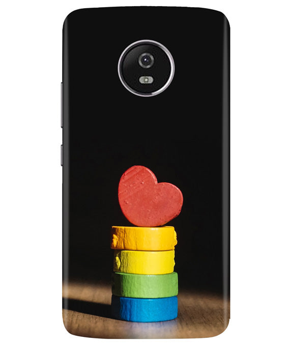 Heart Aim Moto G5 Plus Cover