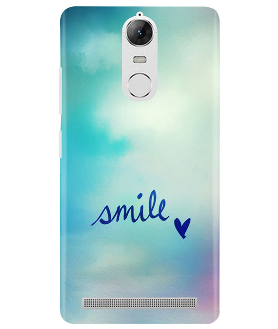 Just Smile Lenovo K5 Note Cover
