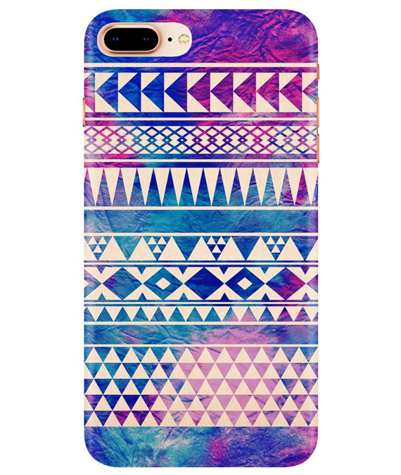 Pattern Lines iPhONE 8Plus Cover