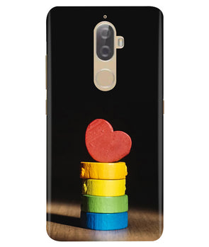 Heart Aim Lenovo K8 Plus Cover