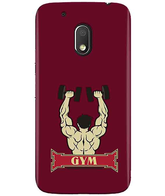 Gym Time MOTO G4 PLAY Cover