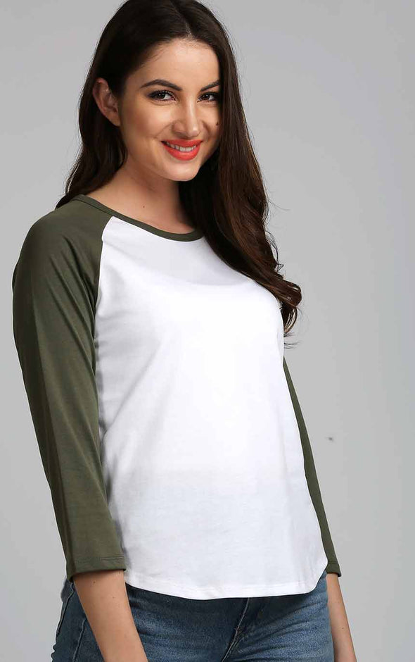 Raglan-Top-In-Olive-Sleeve