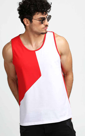 Red-and-White-Men's--Vest