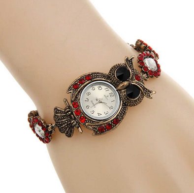 Red Small Dial Women's Watch