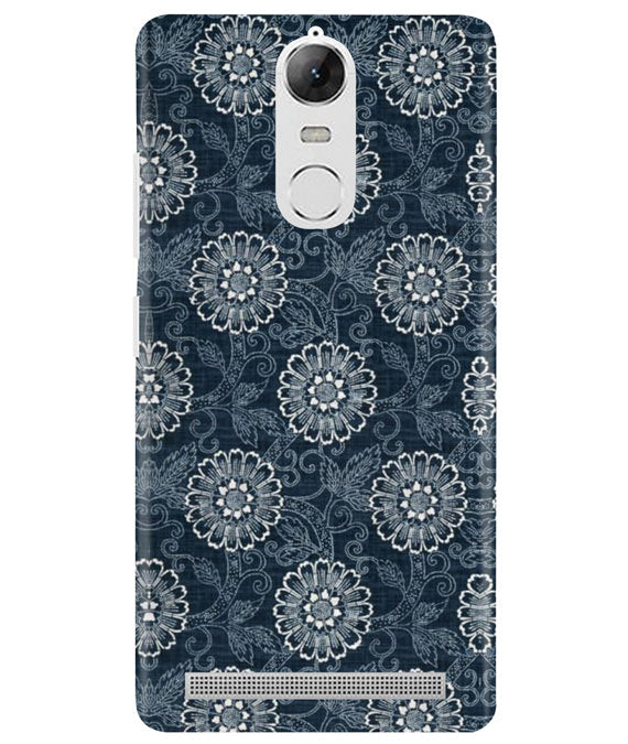 Floral Interiors Lenovo K5 Note Cover