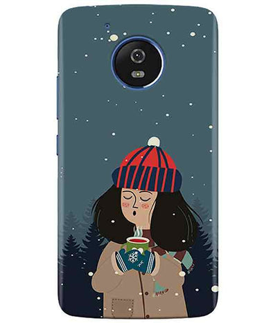Winter Charm moto G5 Cover