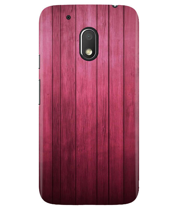 Raspberry Wood Moto G4 Play Cover