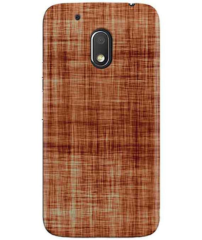 Cream-Brown Play MOTO G4 PLAY Cover