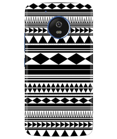 Just Black & White Moto G5 Cover