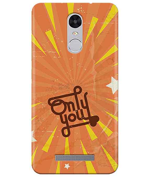 Only You Redmi Note 3 Cover