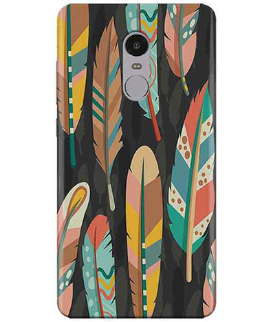 Colorful Feathers Redmi Note  4 Cover