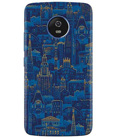New York View moto G5 Cover