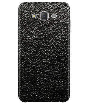 Black Leather Samsung J5 2015 Cover