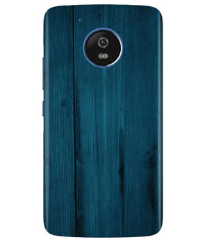 Emerald Green Woods Moto G5 Cover