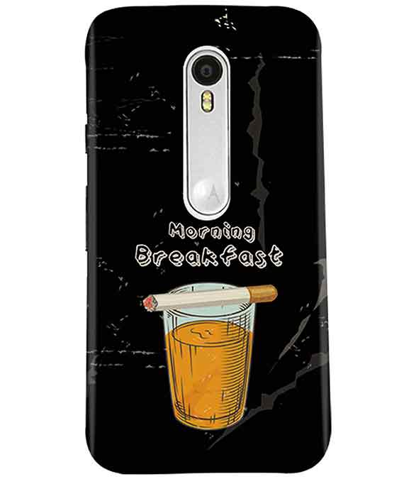 Morning Breakfast Moto G3 Cover