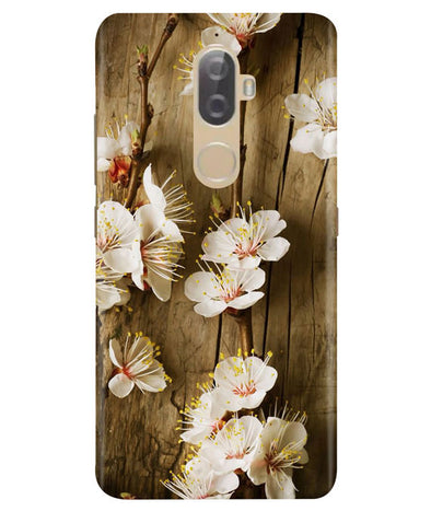 Retro Peace Lenovo K8 Plus Cover
