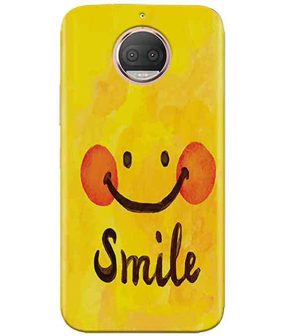 Smiley Mood Moto G5s PlusCover