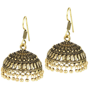 Gold Plated German Silver Jhumka