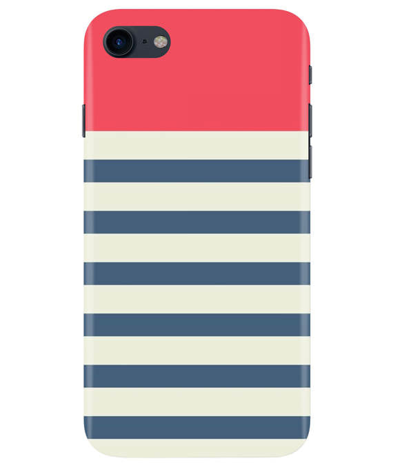 Cream Stripes iPhONE 8 Cover