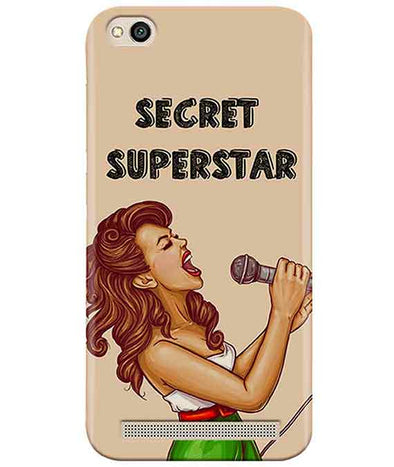 Secret Superstar Redmi 5A Cover
