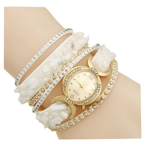 White Fashion Bracelet Watch