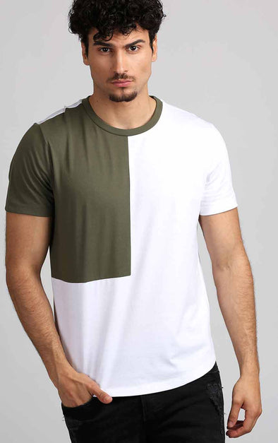 WhiteT-Shirt-Designed-In-Olive