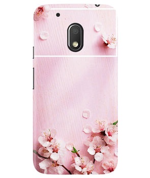 Delicate Rosa Moto G4 Play Cover