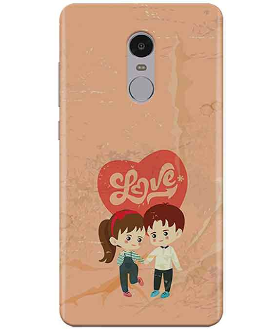 In Love Redmi Note  4 Cover