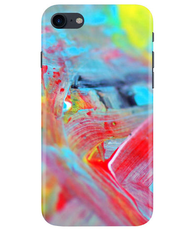 Canvas Strokes iPhONE 8 Cover