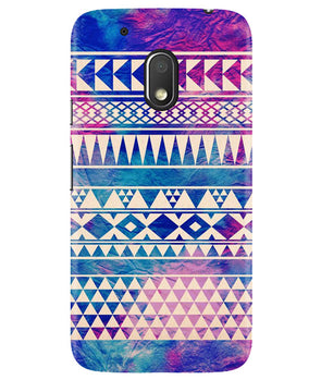 Pattern Lines Moto G4 Play Cover